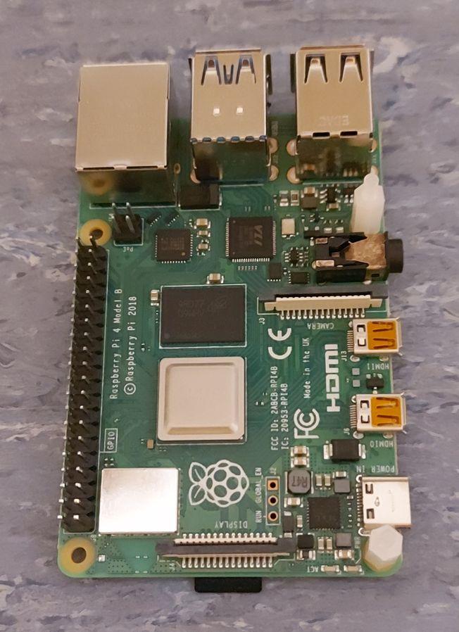 Raspberry Pi 4 module
