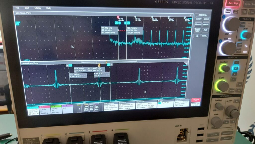 Arbitrary Function Generator and Spectrum