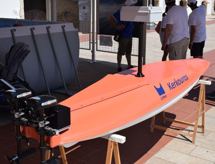 """EMD2021: Smart-Boat """"Kerkouros"""" Exhibit"""